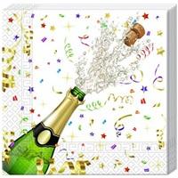 Şampanya Desenli Peçete
