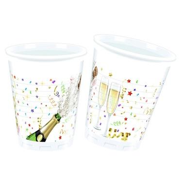 Şampanya Desenli Bardak