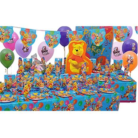 Winnie The Pooh Temalı Parti Seti