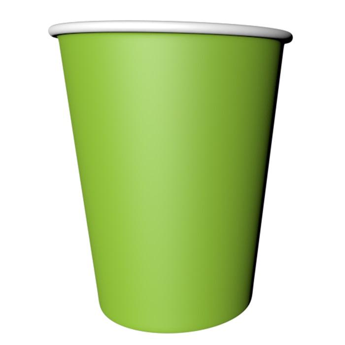 Açık Yeşil Karton Bardak