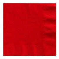 Kırmızı Renkli Kağıt Peçete