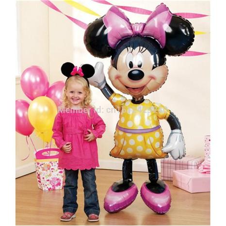 Minnie Airwalker Folyo Balon