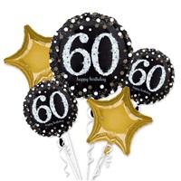 60 Yaş  Folyo Balon Demeti
