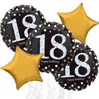 18 Yaş Folyo Balon Demeti