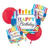 Happy Bırthday Folyo Balon Demeti
