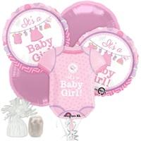 Baby Gırl Demet Folyo Balon