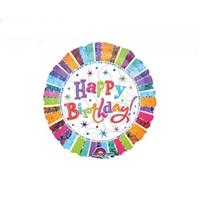 Happy Yıldız  Folyo Balon