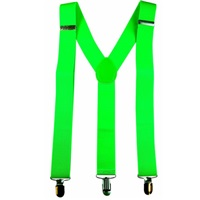 Yeşil Fosforlu Pantolon Askılığı