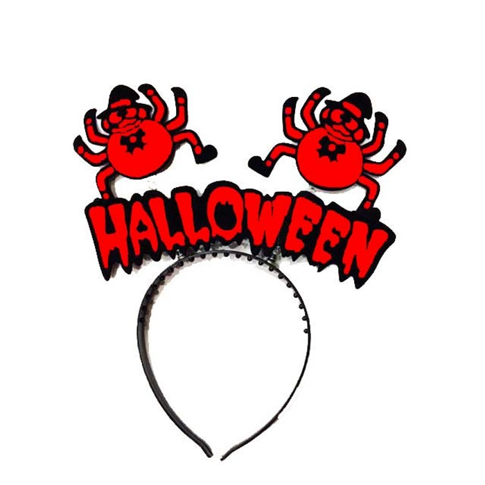 Cadılar Bayramı Halloween Kırmızı Taç