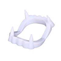 Cadılar Bayramı Beyaz Vampir Diş