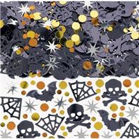 Cadılar Bayramı Halloween Masa Konfetisi Metalik