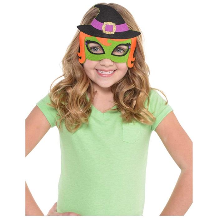 Cadılar Bayramı Keçe Maske