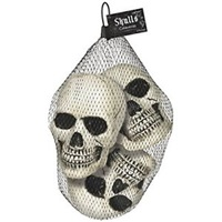 Cadılar Bayramı Partisi Ürpertici Kafatası Dekorasyon Paketi