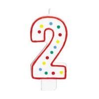 2 Rakam Doğum Günü Mumu