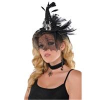 Cadılar Bayramı Örümcek Ağlı Cadı Şapka