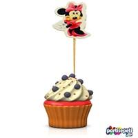 Minnie Mouse Temalı Kürdan Süs