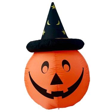 Halloween Elektrikli Şişme Kabak Dekoru