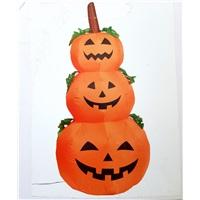 Halloween Elektrikli Şişme 3 Lü Kabak Dekoru