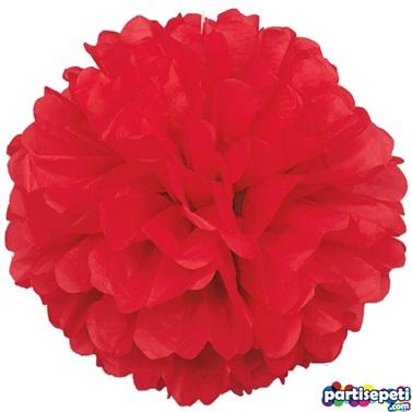 Kırmızı Ponpon Çiçek