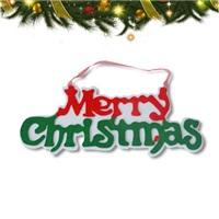 Yılbaşı Merry Christmas Yazısı (Keçeden)