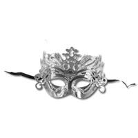 Yılbaşı Gümüş Renk Maske