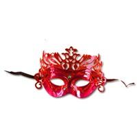 Yılbaşı Kırmızı Renk Maske