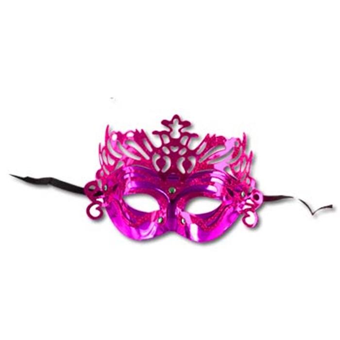 Yılbaşı Mor Renk Maske
