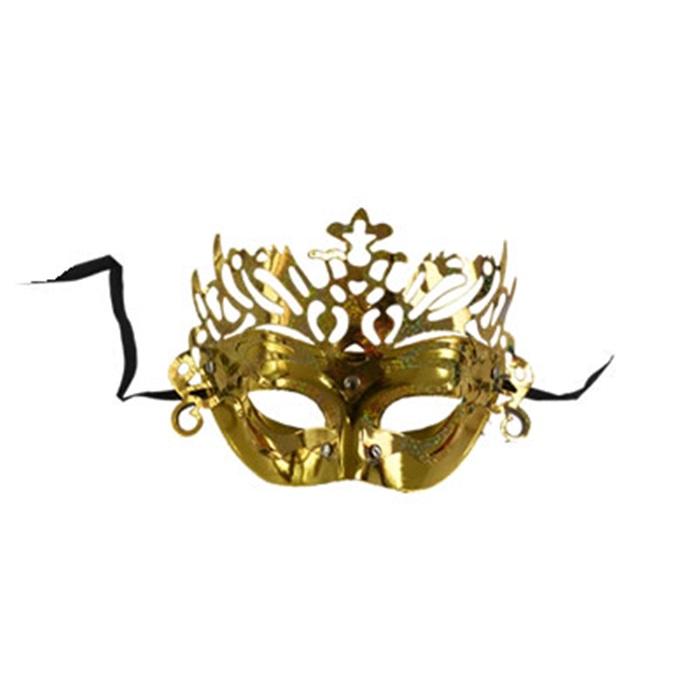 Yılbaşı Altın Renk Maske
