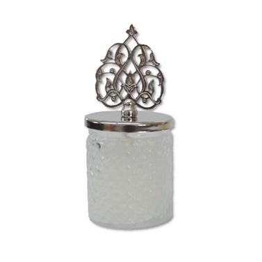 Mum Balon Ağırlığı Beyaz (Gümüş Renk Kapaklı)