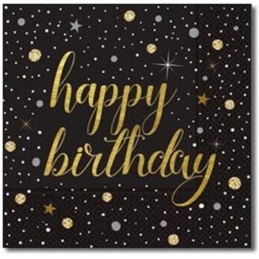 Happy Birthday Peçete Çift Katlı 20 Adet