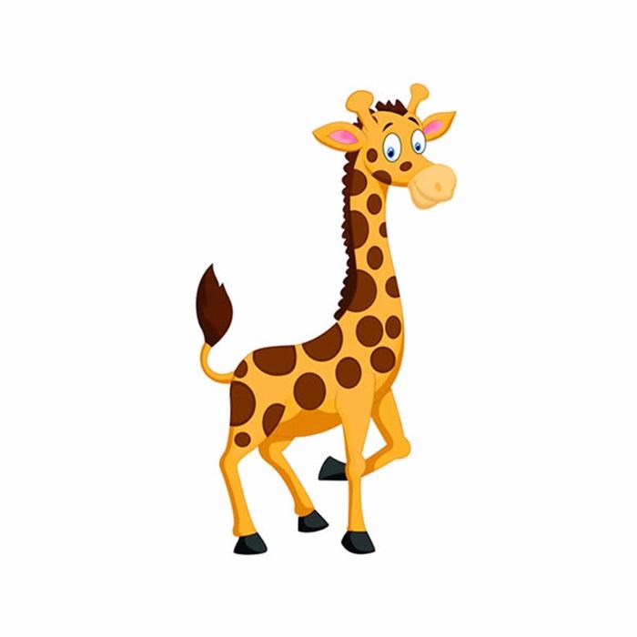 Zürafa  Ayaklı Pano