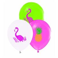 Flamingo Baskılı Balon