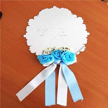 İsme Özel Pleksi Ayna Duvar Süsü Mavi