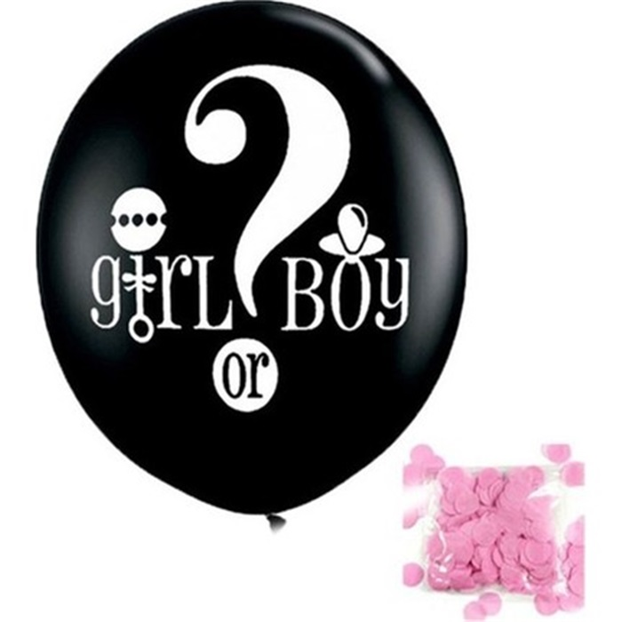 Cinsiyet Belirleme Balonu Kız