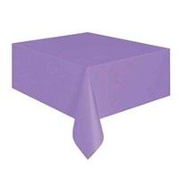 Lila Plastik Masa Örtüsü
