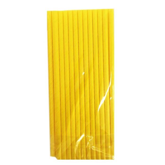Sarı Kağıt Pipet