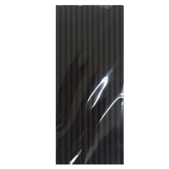 Siyah Renkli Kağıt Pipet
