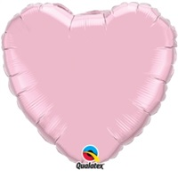 Pembe Kalpli Folyo Balon