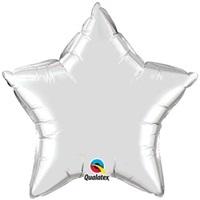 Gümüş Yıldız Folyo Balon