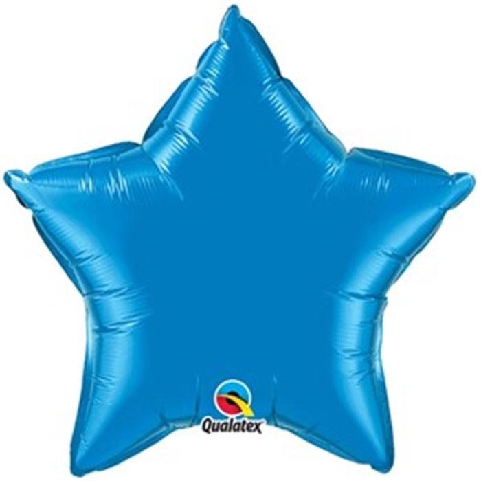 Mavi Yıldız Folyo Balon