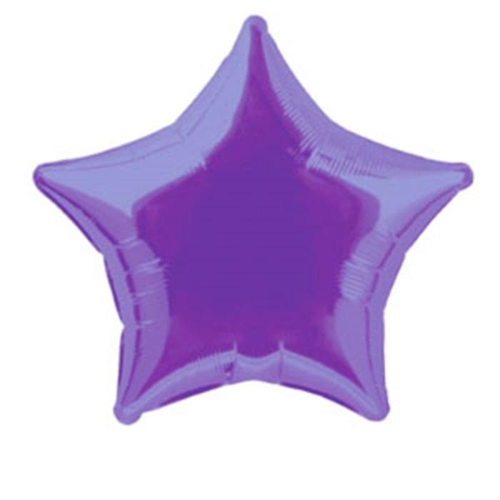 Yıldız Violet Renkli Folyo Balon