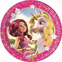 Mia Unicorn Temalı Tabak