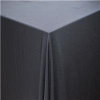 Siyah Kumaş Masa Örtüsü