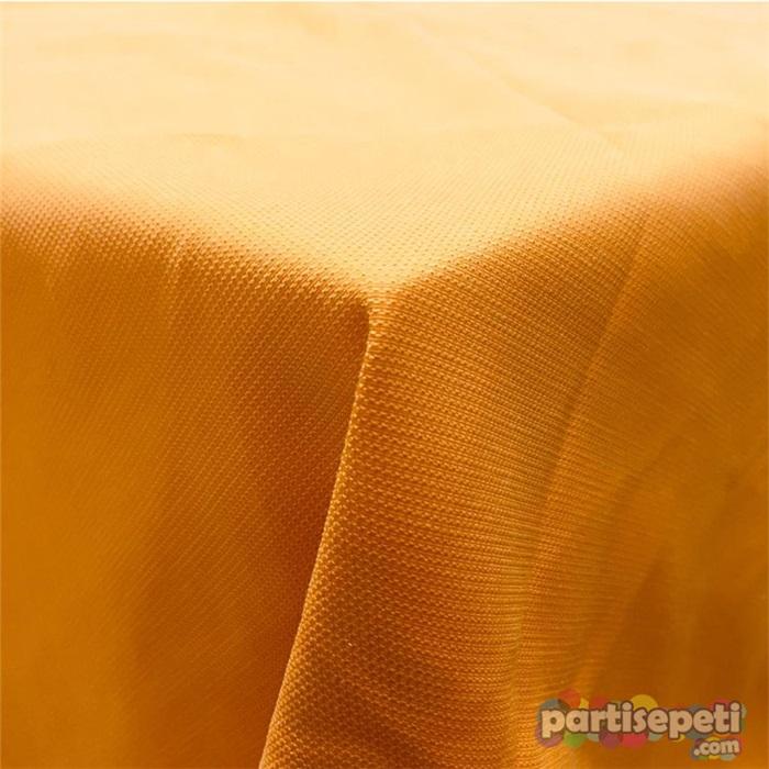 Kumaş Turuncu Masa Örtüsü