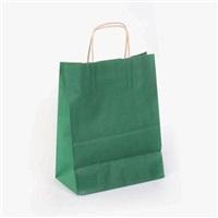 Koyu Yeşil Kraft Çanta