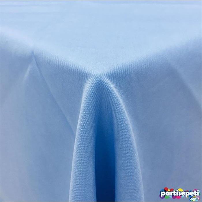 Kumaş Mavi Masa Örtüsü
