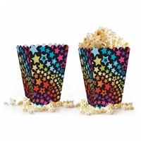 Renkli Yıldızlar Popcorn Kutusu