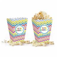 Renkli Popcorn Mısır Kutusu