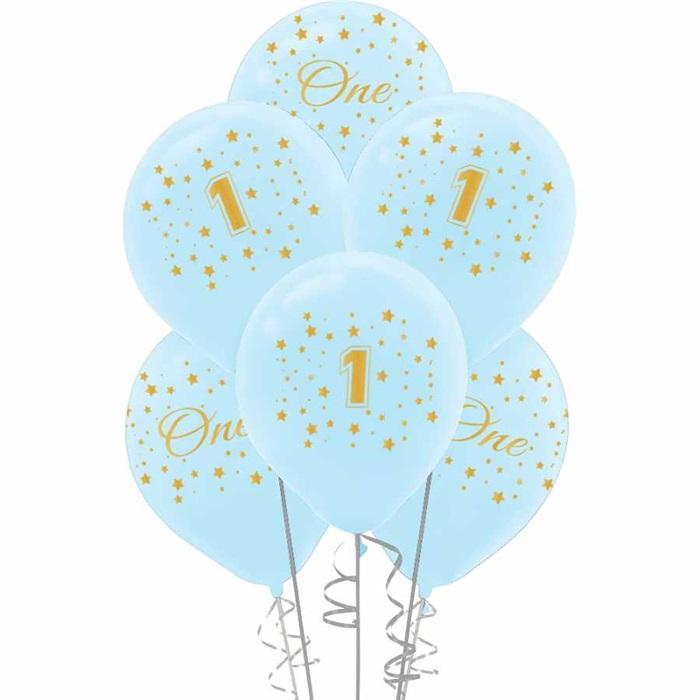 1 Yaş Baskılı Lateks Balon