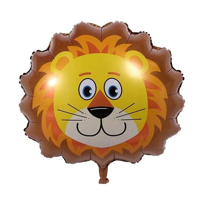 Safari Aslan Temalı Folyo Balon
